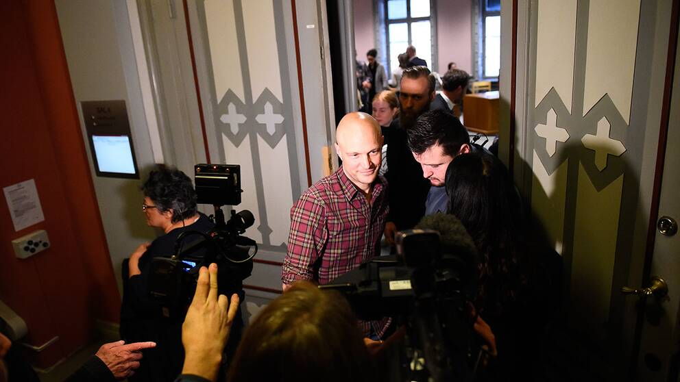 Stor mediauppmärksamhet kring rättegången mot Fredrik Önnevall