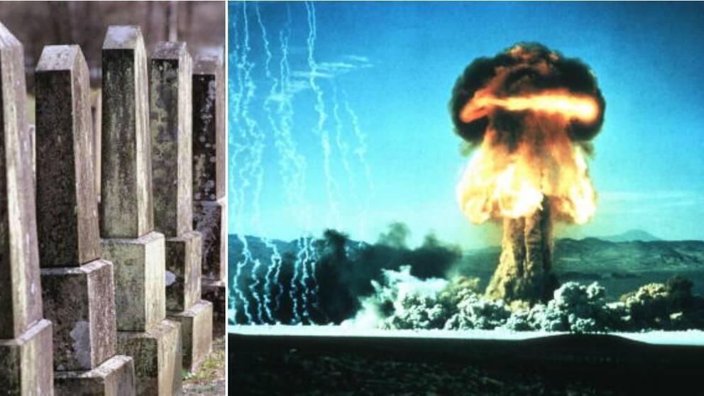 """Slutet närmar sig: Den omtalade """"domedagsklockan"""" flyttades fram till 23:57:30 – vilket innebär att ett fullskaligt kärnvapenkrig närmar sig."""