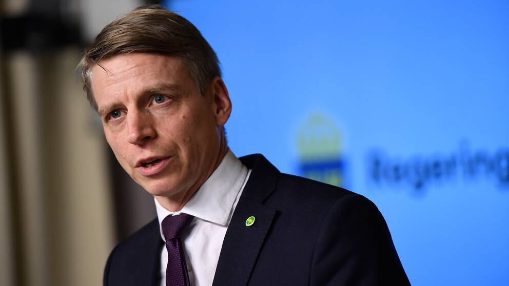 Per Bolund (MP), finansmarknadsminister