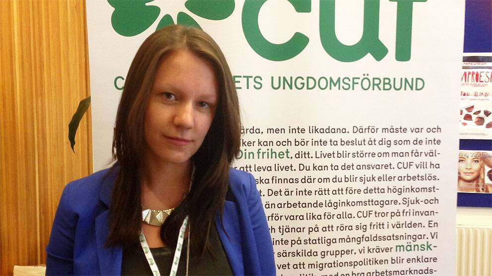 Amanda Gref, CUF-ordförande Östergötland