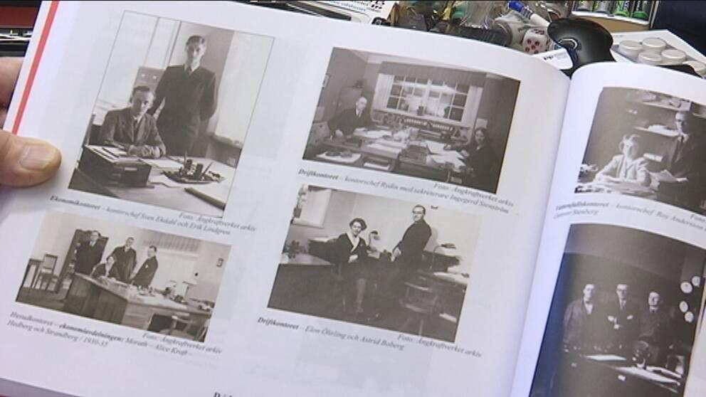 bilder på från ångkraftverkets kontor