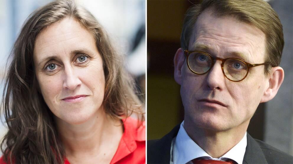 Hanna Stjärne och Martin Ingvar