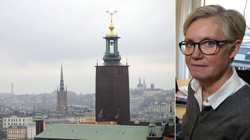 Malin Täppefur, chef på SLB-analys, säger att gårdagens dåliga luft i Stockholm hade sitt ursprung i Polen.