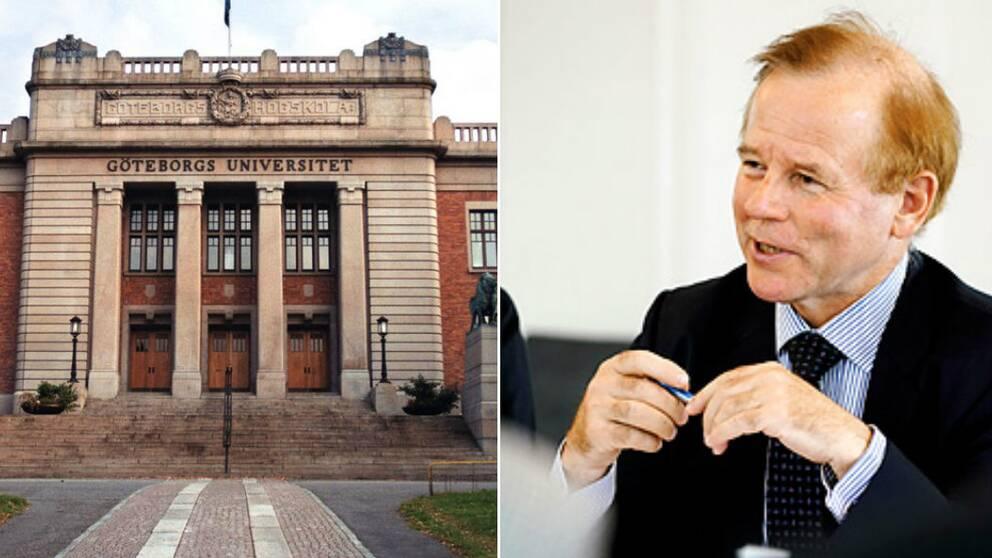 Göteborgs Universitets Tilltänkte Rektor Hoppar Av Svt Nyheter