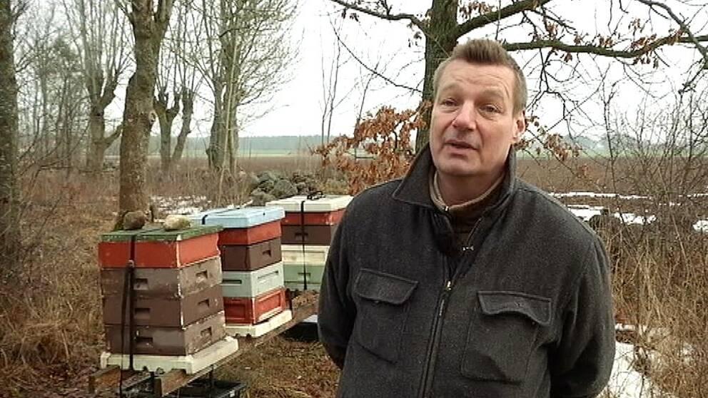 Biodlaren Simon Höjeberg på Gotland