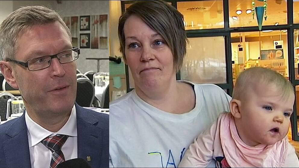 Imorgon stänger BB för gott – idag vädjar mammor i Sollefteå till politikerna med regionrådet Erik Lövgren (S) i spetsen, att tänka om och riva upp beslutet.