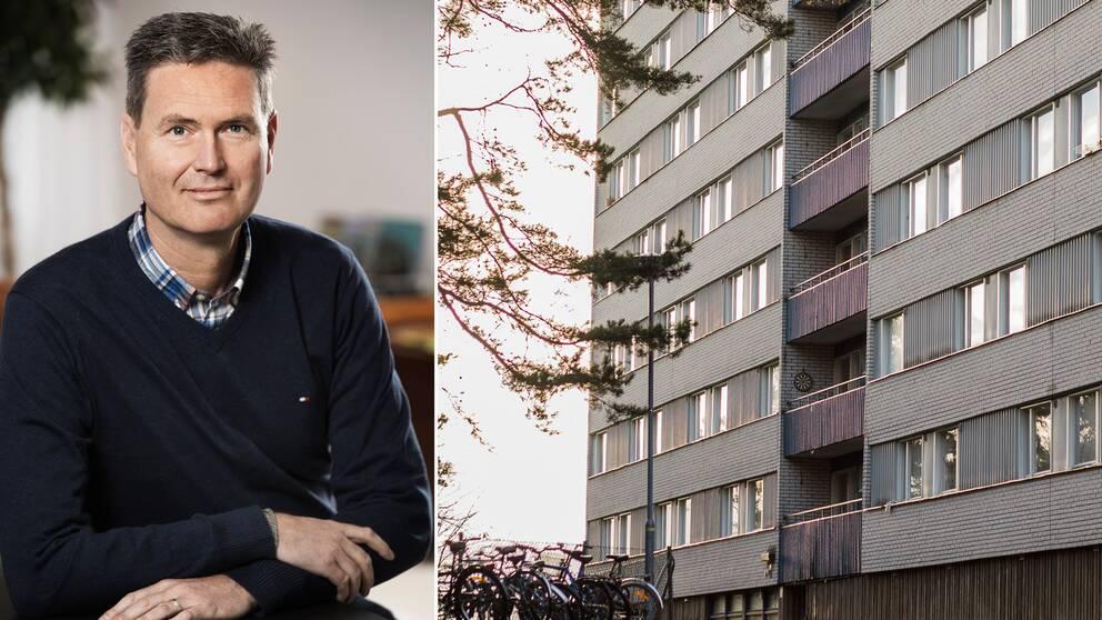 Enligt Heimstadens vd Patrik Hall är det ökande kostnader som fått fastighetsägaren att överväga en omvandling av studentbostäderna.
