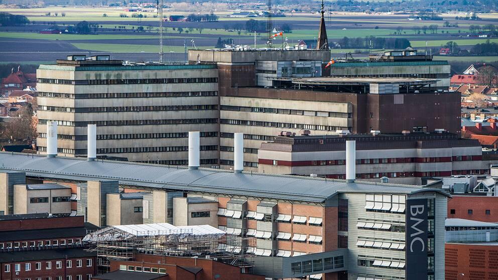 Skånes universitetssjukhus i Lund.