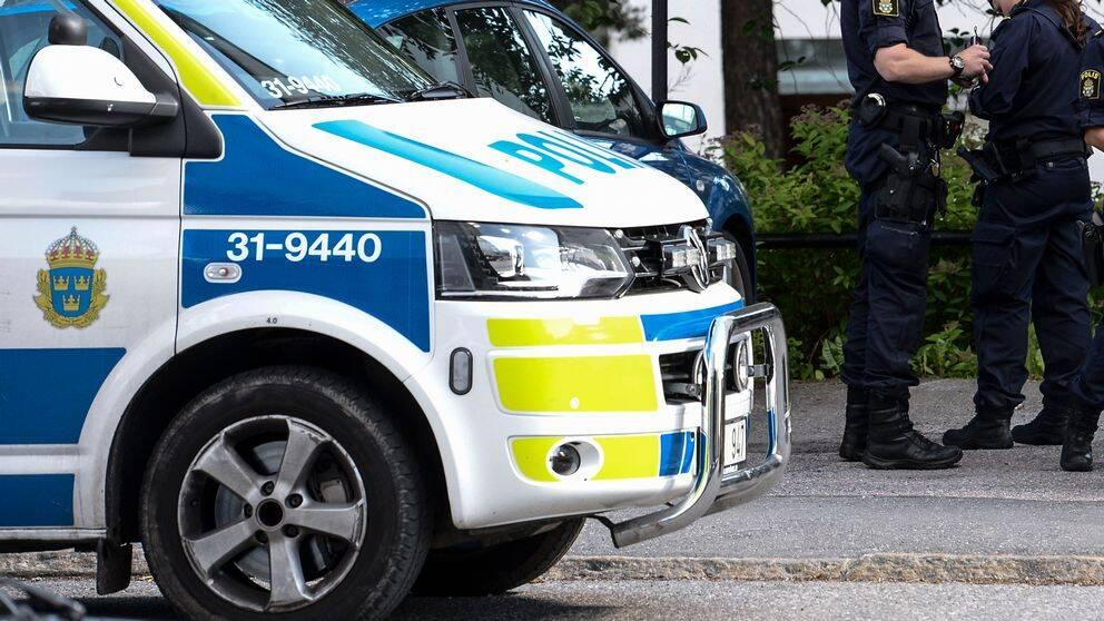 polisbil, poliser
