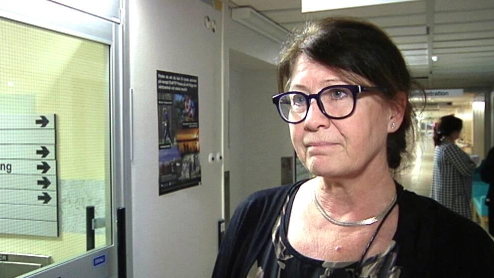 Maria Lingehall som är sjukhussamordnare vid Skellefteå lasarett