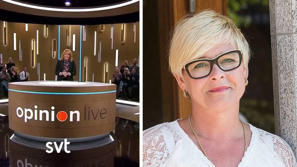 Faktums chefredaktör Sarah Britz uthängd efter debatt i SVT.