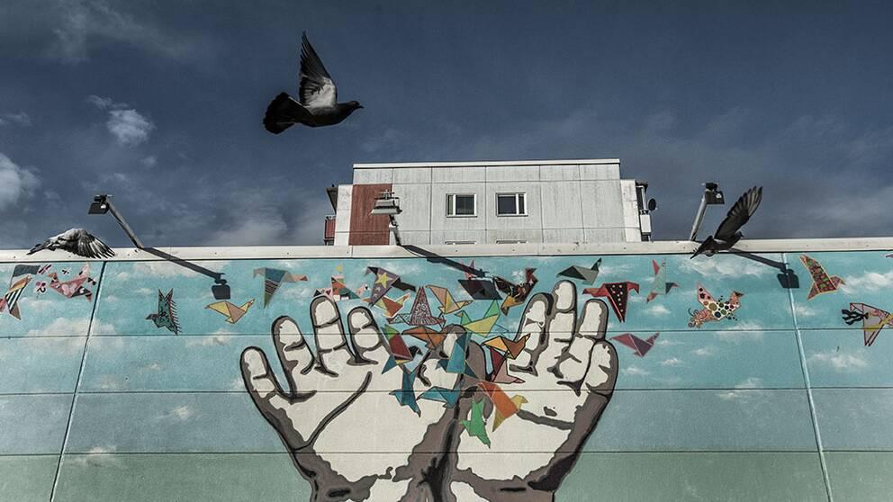 Husby, graffitti