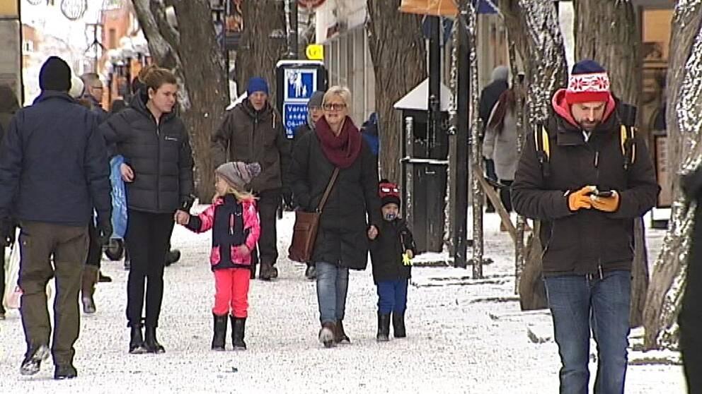 Prästgatan i Östersund