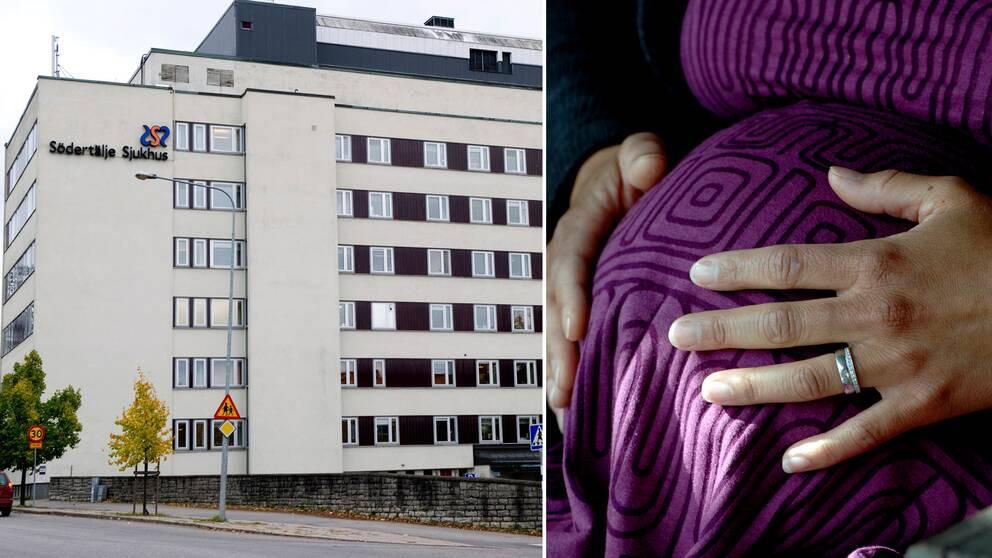 Södertälje sjukhus gravid