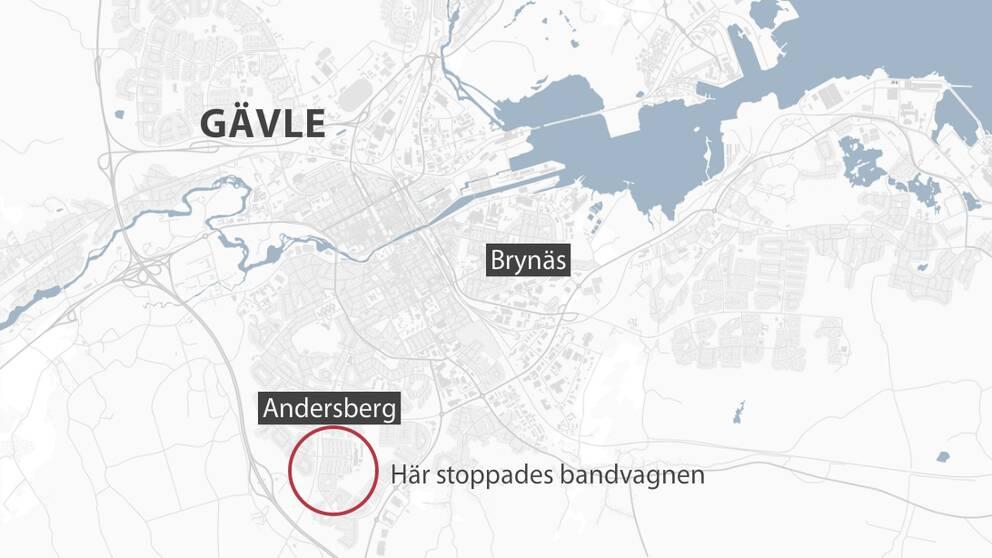 karta Gävle