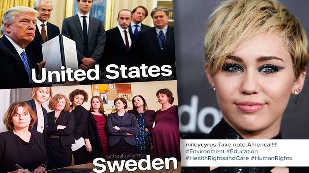 Miley cyrus kommer till sverige