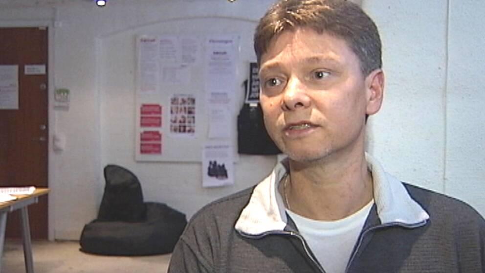 Mikael Johansson är ordförande i Skånes Brukarförening.