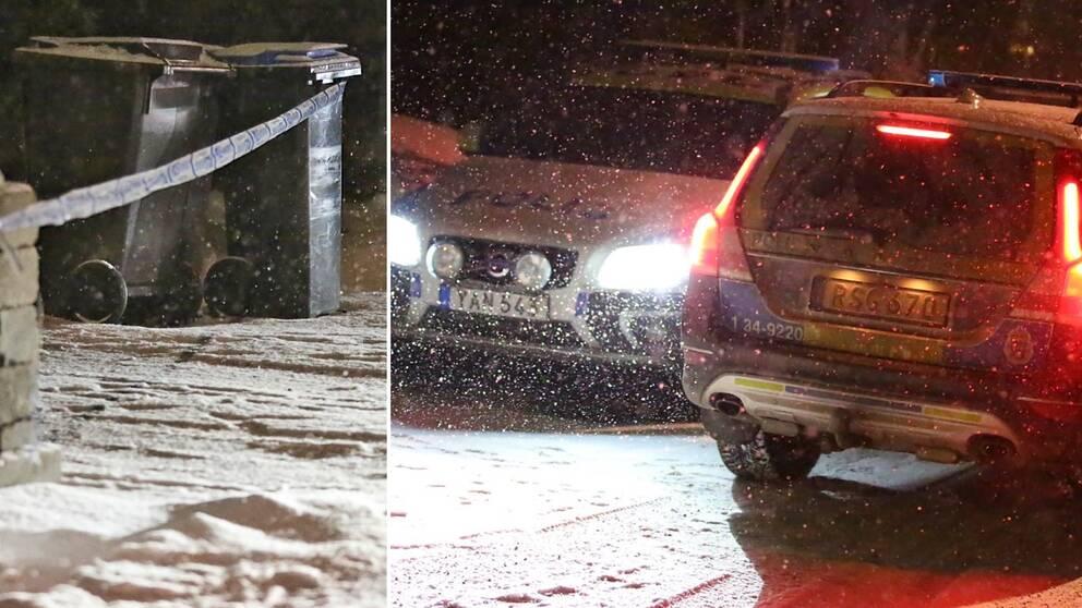 Polis, Stockholm, bomb, bil