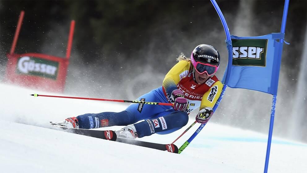 Frida Hansdotter – ett av de svenska medaljhoppen i VM.