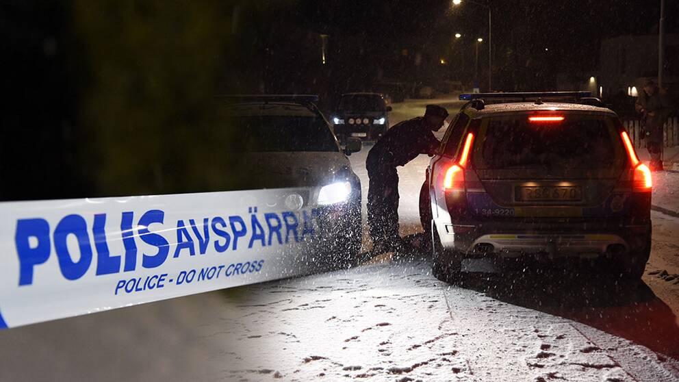 Explosion i bil som tillhör polischef