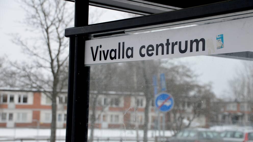 Vivalla centrum, busskur
