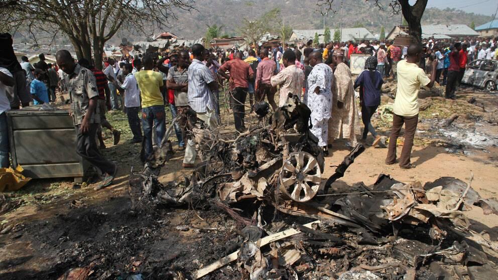Attentat mot kyrka i Nigeria 2011