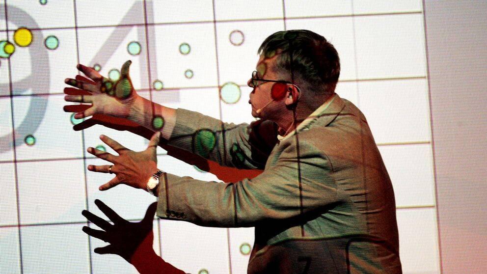 Professor Hans Rosling var känd för sina visualiseringar av utveckling i världen.