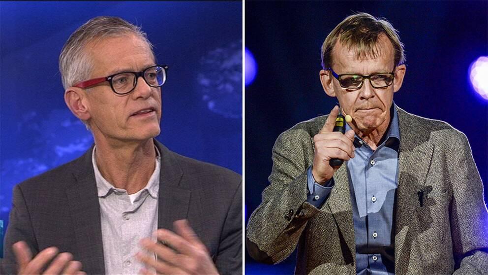 Johan von Schreeb minns Hans Rosling