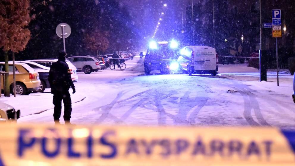 En man skjuten vid Pildammsparken i Malmö.