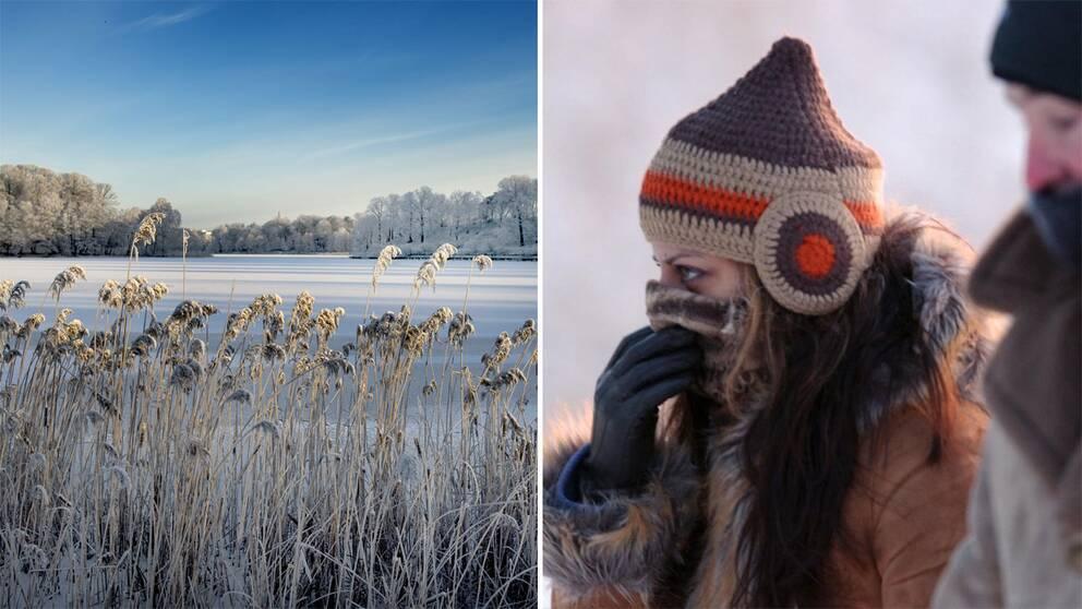 Nu kommer vinterns forsta nationella isdygn