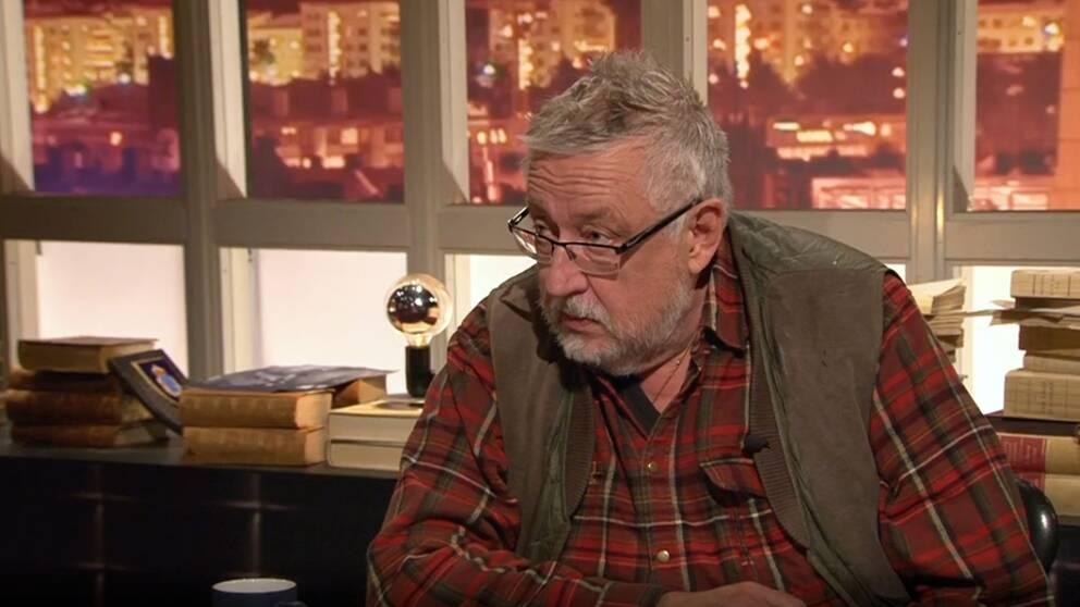 Leif GW Persson i Veckans brott den 7 januari 2017.