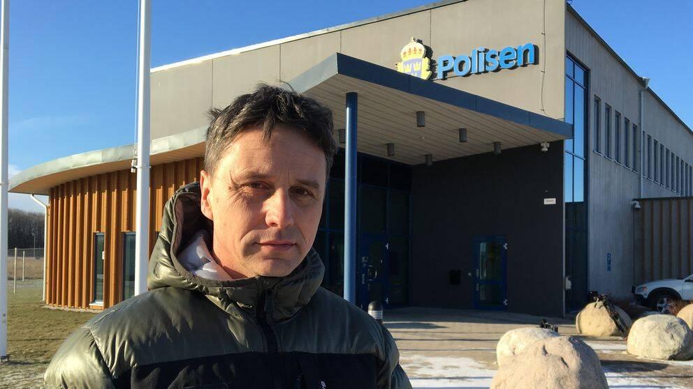Ralf Andersson, polisfackets ordförande i Västmanland.