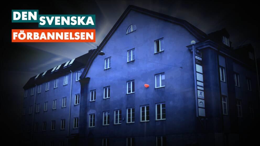 I det här huset i Norrköping tillverkades plastpåsar en gång i tiden.