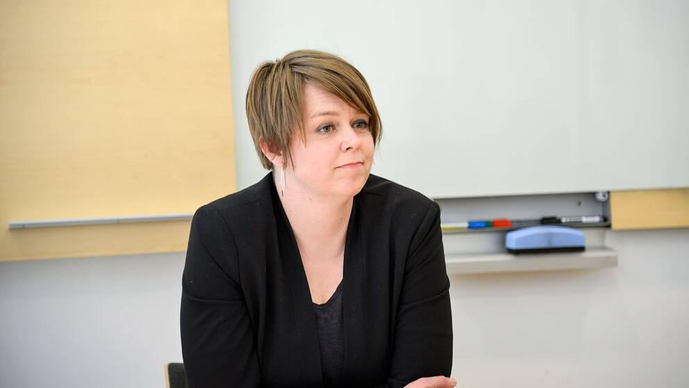 Katrin Stjernfeldt Jammeh (S), kommunstyrelsens ordförande i Malmö stad. Arkivbild.