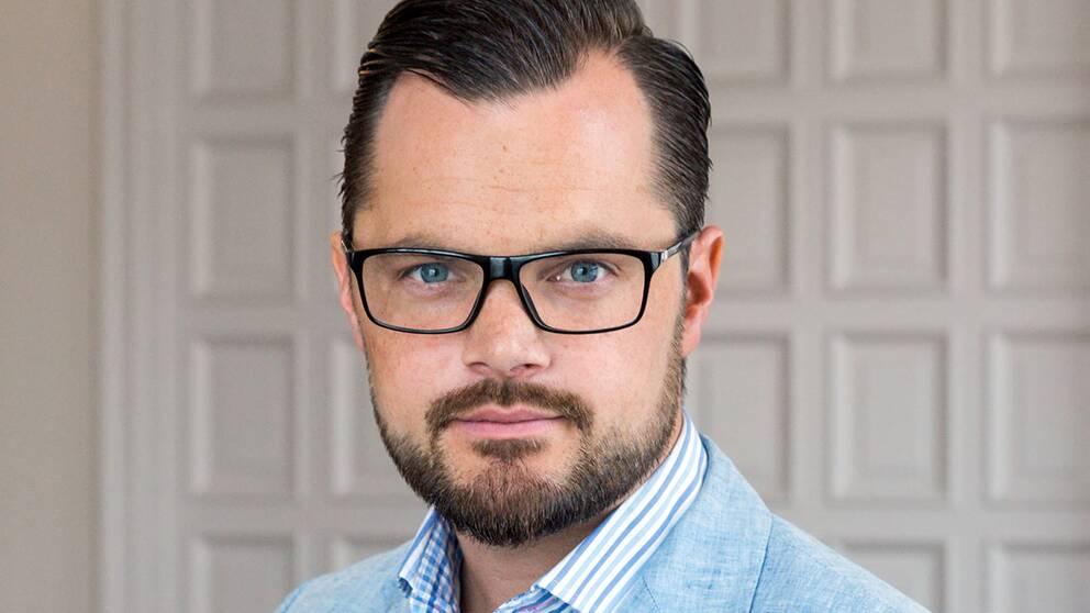Adam Marttinen, rättspolitisk talesperson, SD