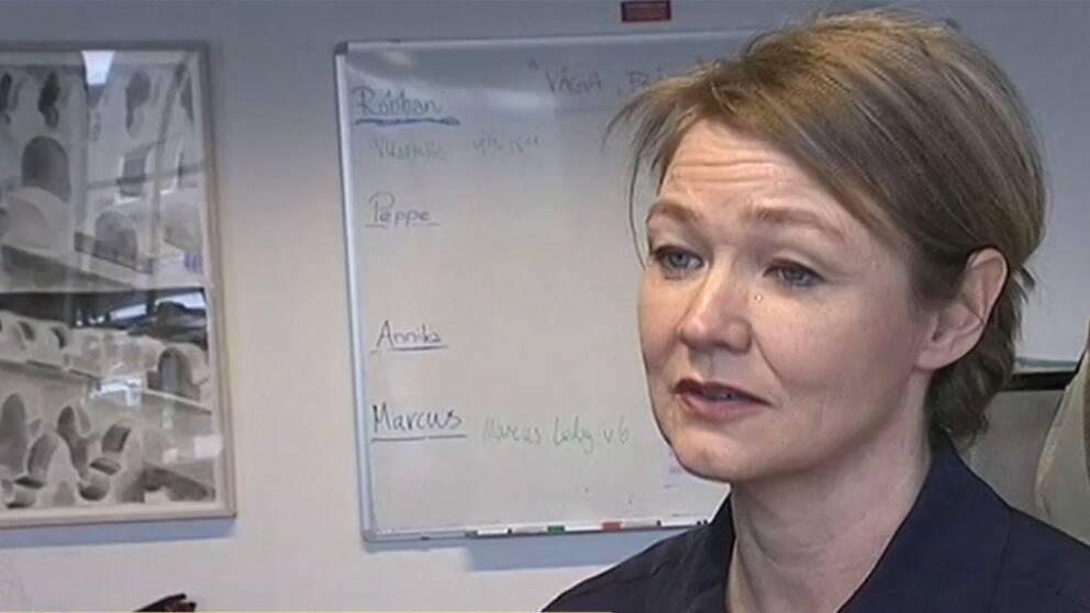 Helena Olsson, programbeställare på SVT.