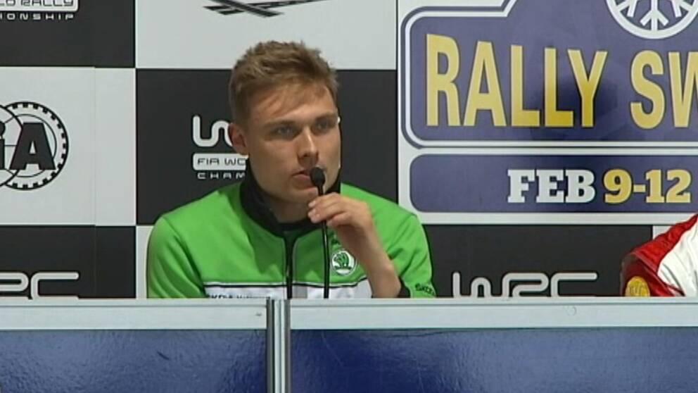 Pontus Tidemand presskonferens