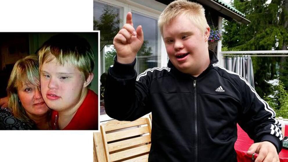 Chockhöjd hyra för 21-åring med Downs syndrom