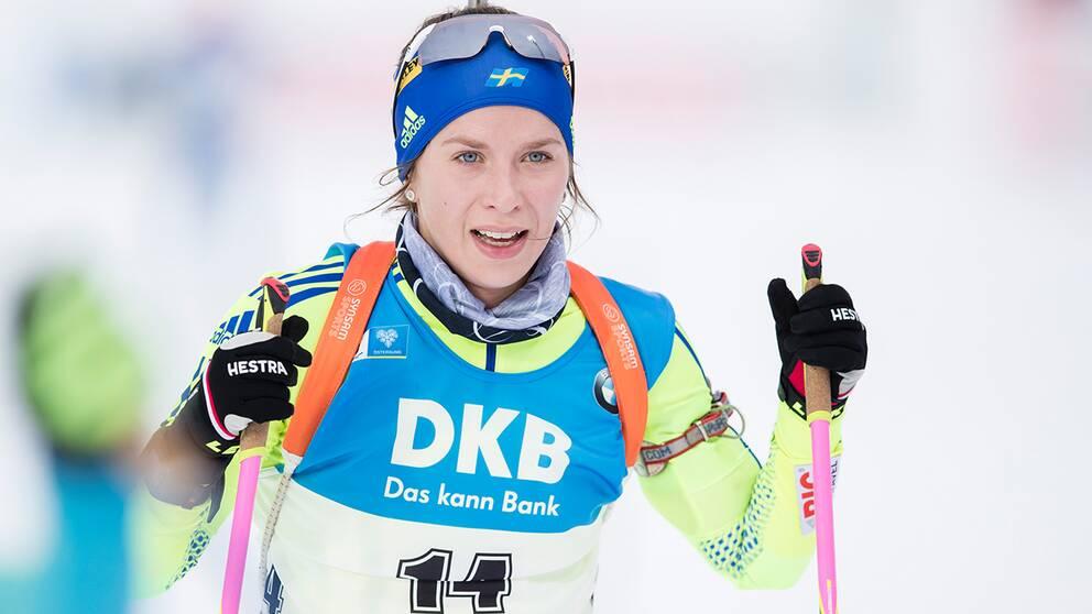 Anna Magnusson sköt fullt.