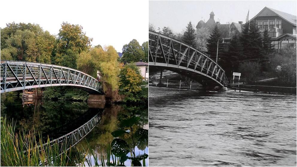 Femöresbron nu och på 60-talet.