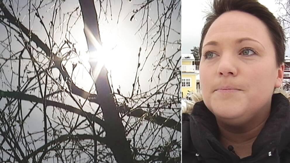 Malin Lundqvist får ingen ersättning av försäkringskassan.