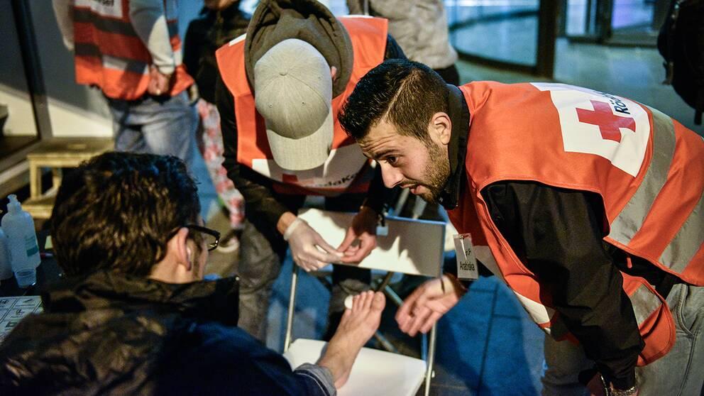 I samband med flyktingvågen var det många som jobbade som volontärer. I dag är intresset betydligt svalare.