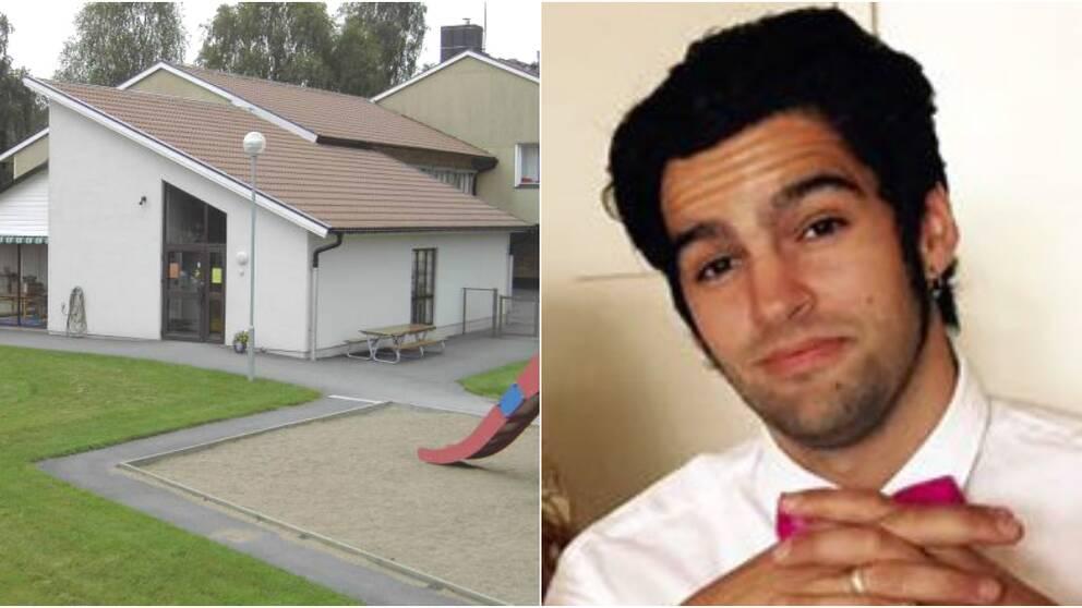 Skogskojans förskola i Älvsered och Michel Pettersson.