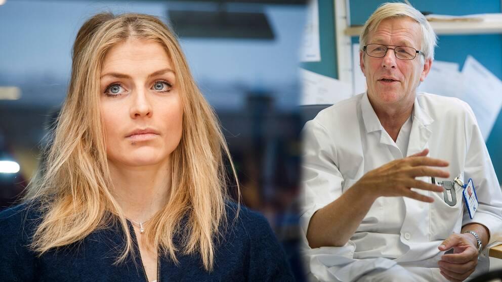 Dopningsexperten Åke Andrén-Sandberg tycker att domen mot Therese Johaug är mild.