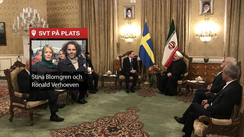 SVT på plats i Iran