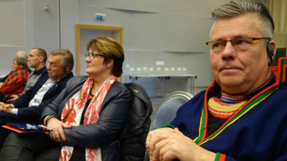 Lyckele sameförenings ordförande Mikael Jakobsson