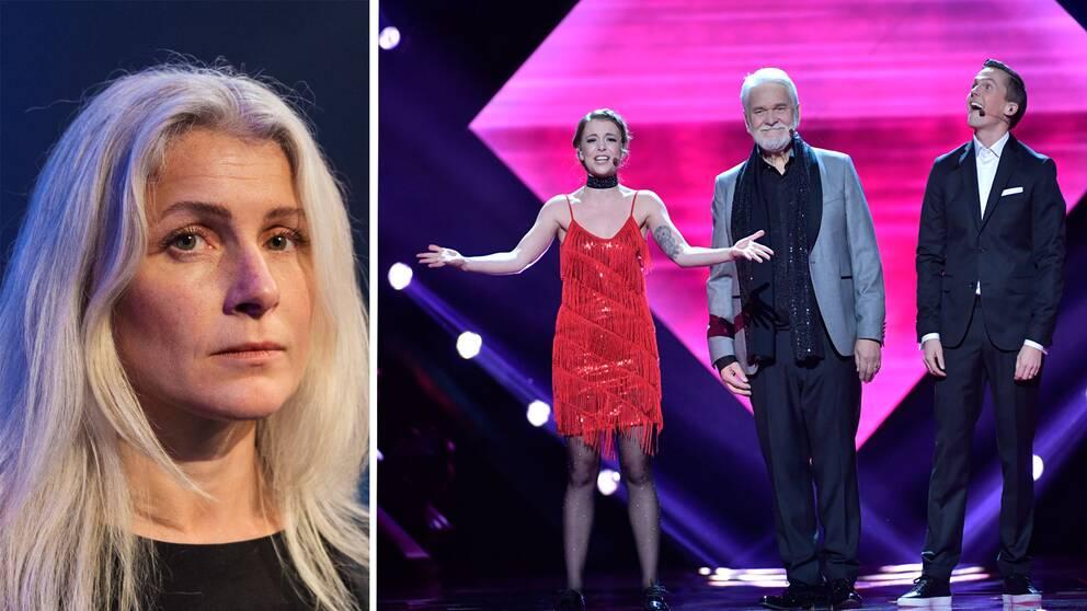 Anette Helenius, projektledare för Melodifestivalen