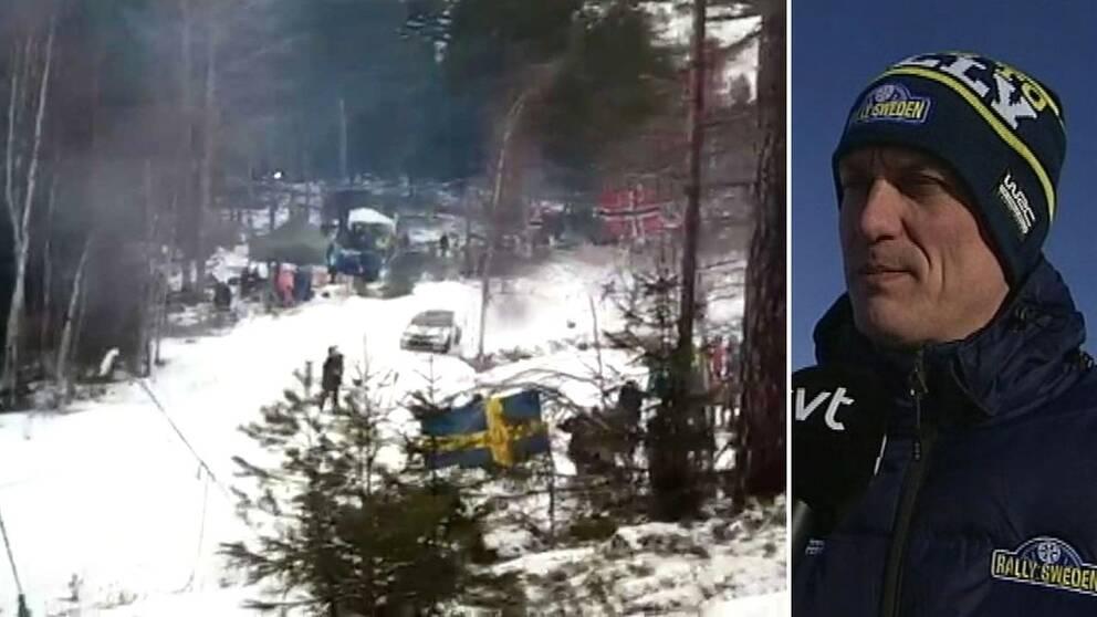 Svenska rallyts vd Glenn Olsson