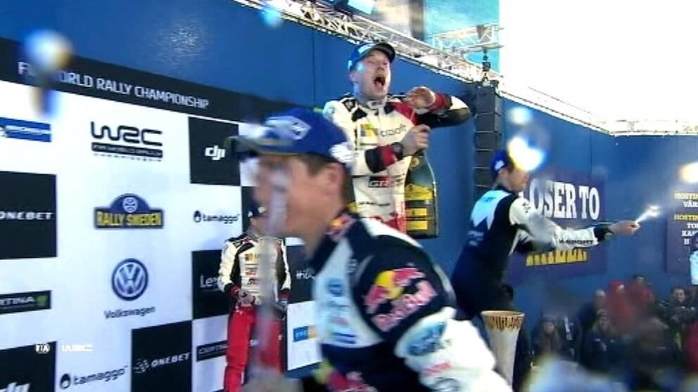 Prispallen Sweden Rally WRC