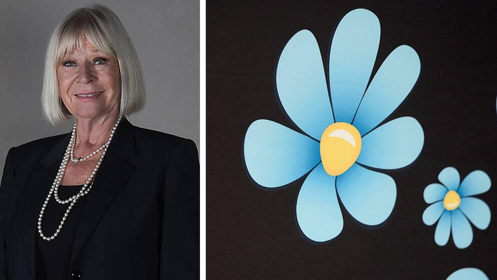 Sverigedemokraten Margareta Haglund.